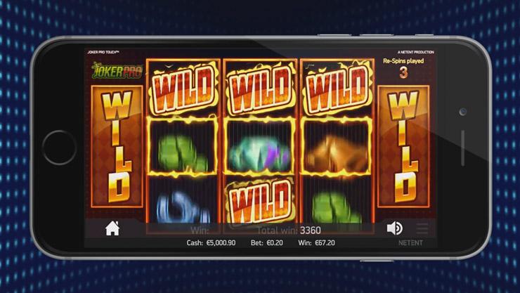 Wilds på spilleautomater